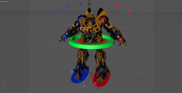 Robot Character Rigging