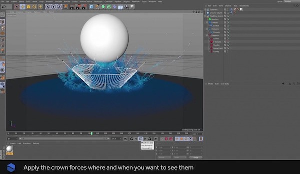 RealFlow and Cinema4D