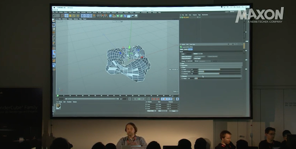 All FMX 2016 Maxon Workshop