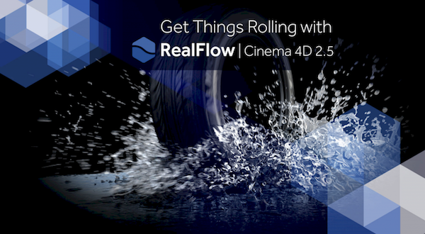 RealFlow for Cinema 4D 2.5