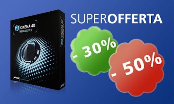 Super Offerta Cinema4D