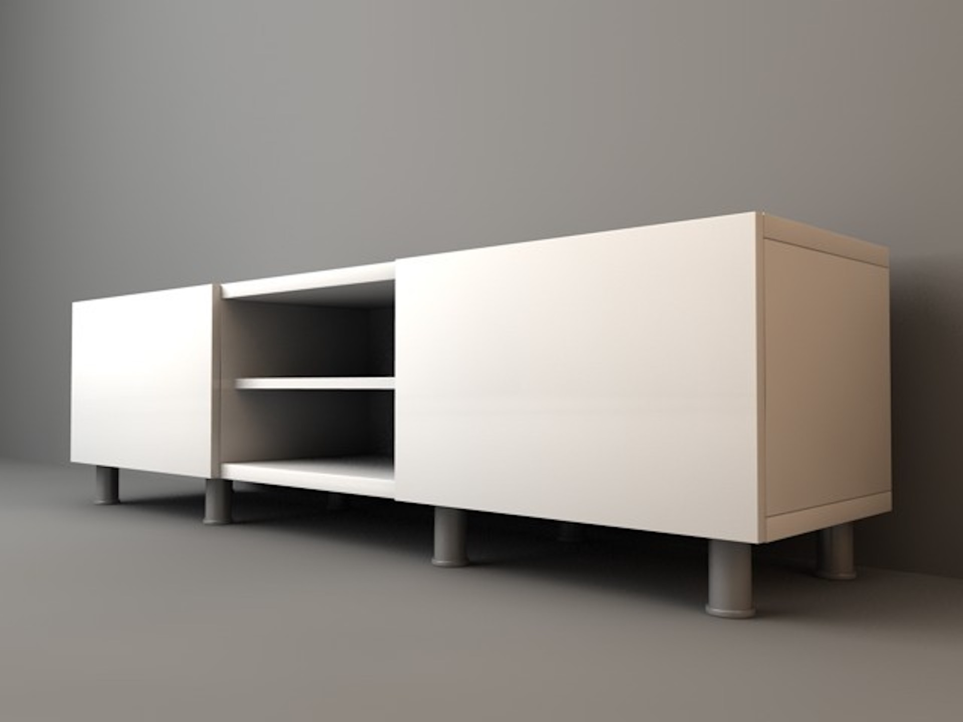 TV Stand - Models - Download - C4Dzone