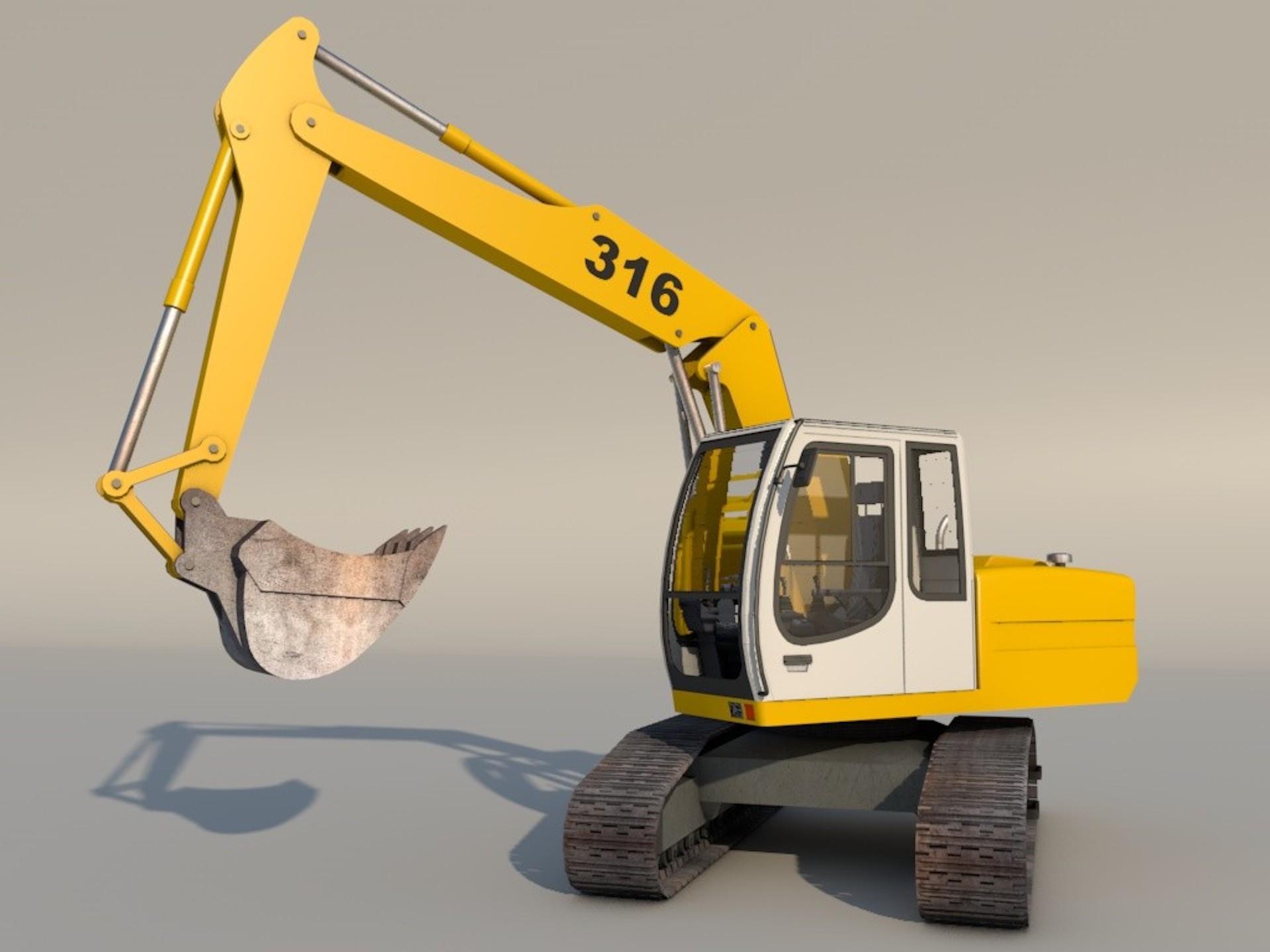 Escavatore Xpresso Modelli Download C4dzone