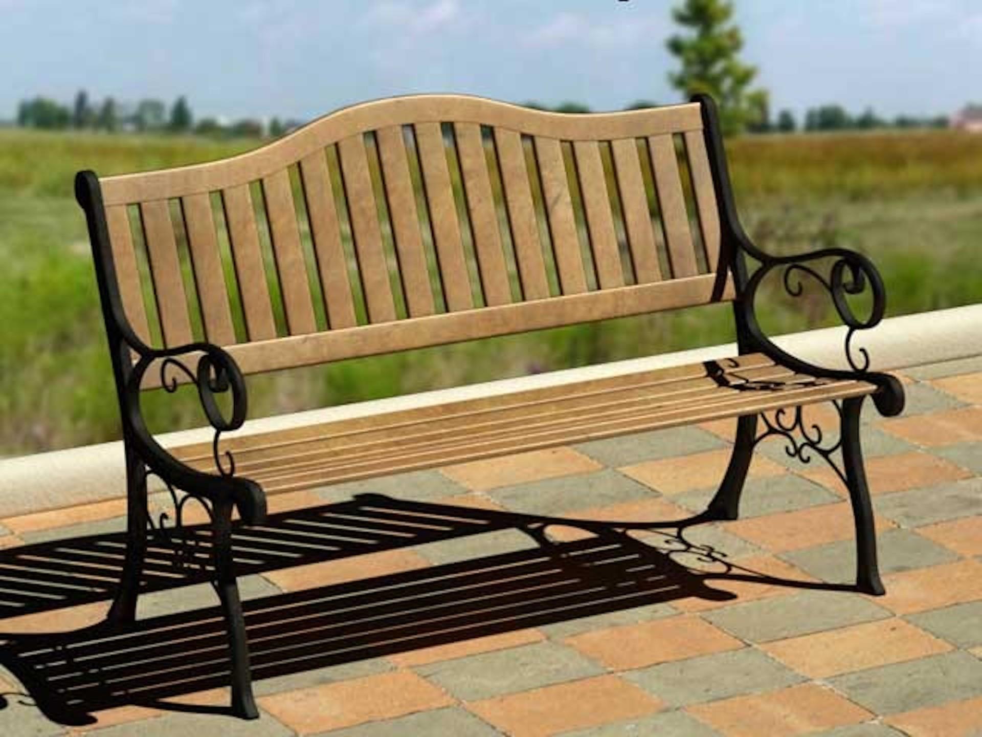 Panca da esterni modelli download c4dzone for Ikea panchina esterno