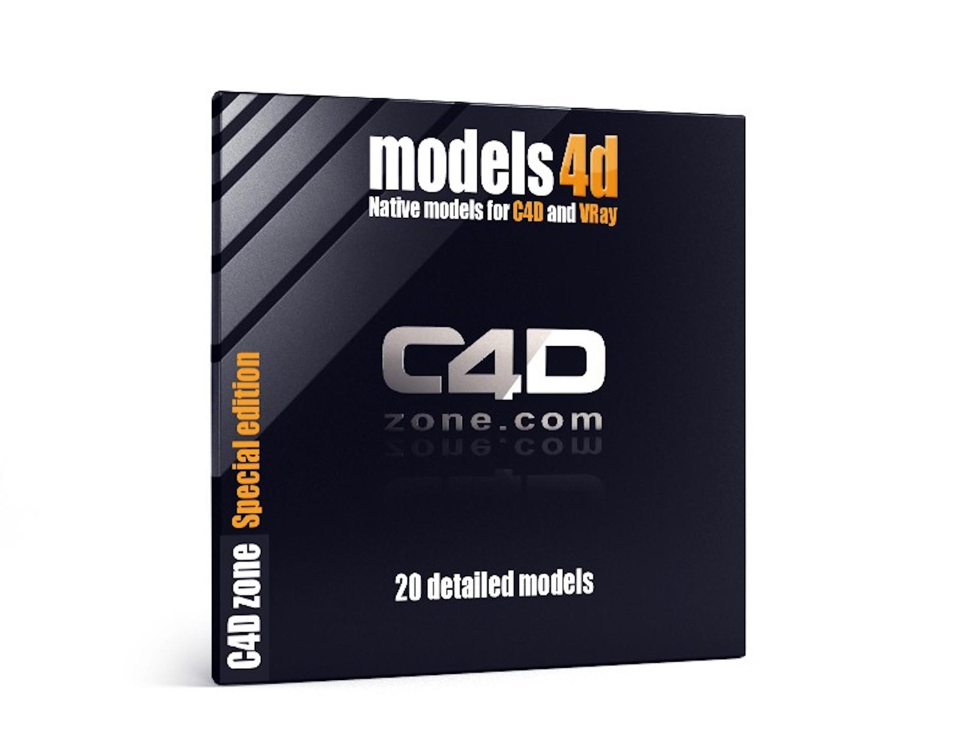 Models 4D Free Pack - Models - Download - C4Dzone
