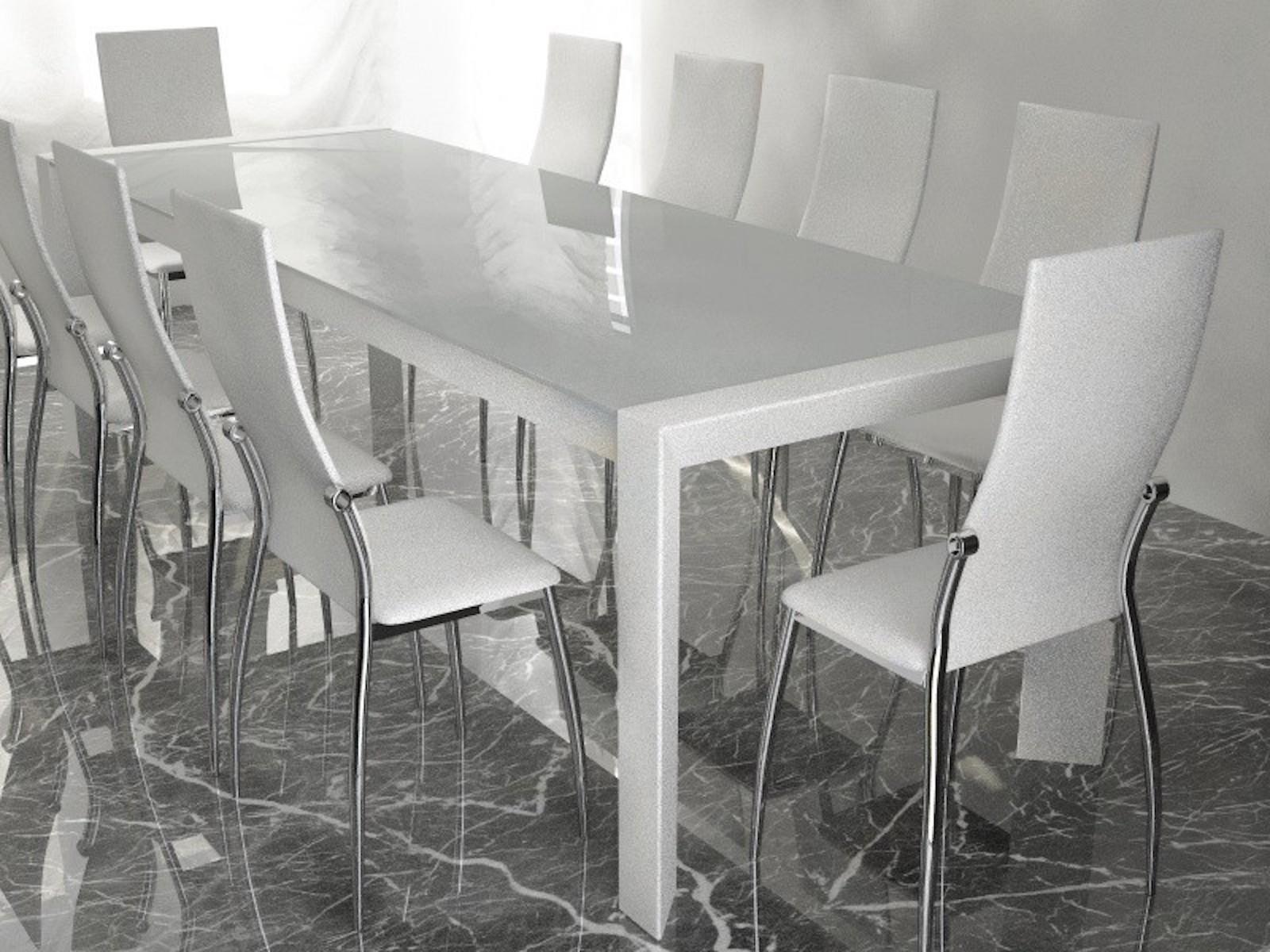 Tavolo moderno con sedie modelli download c4dzone - Tavolo centro convenienza ...