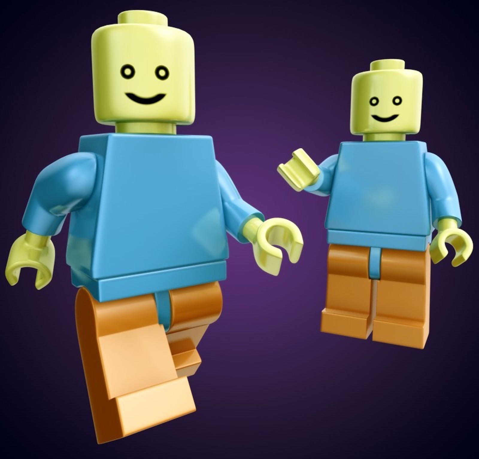 Lego's character