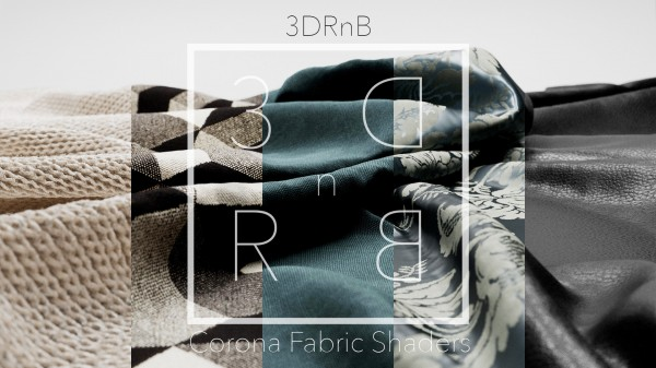 3DRnB Corona Fabric Shaders for C4D