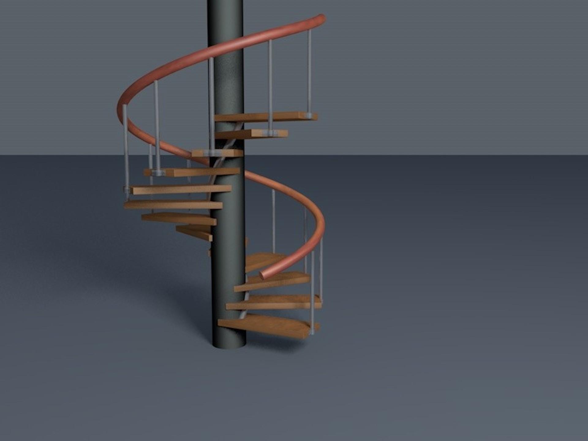 Scala achiocciola trendy scala a chiocciola con gradini - Gradini per scale a chiocciola ...