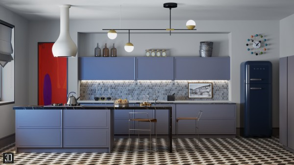 Violet Kitchen