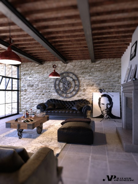 industrial style living