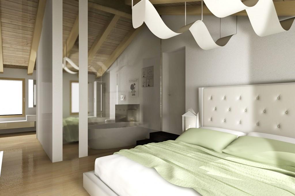 Camera da letto alchimia studio gallery c4dzone - Studio in camera da letto ...