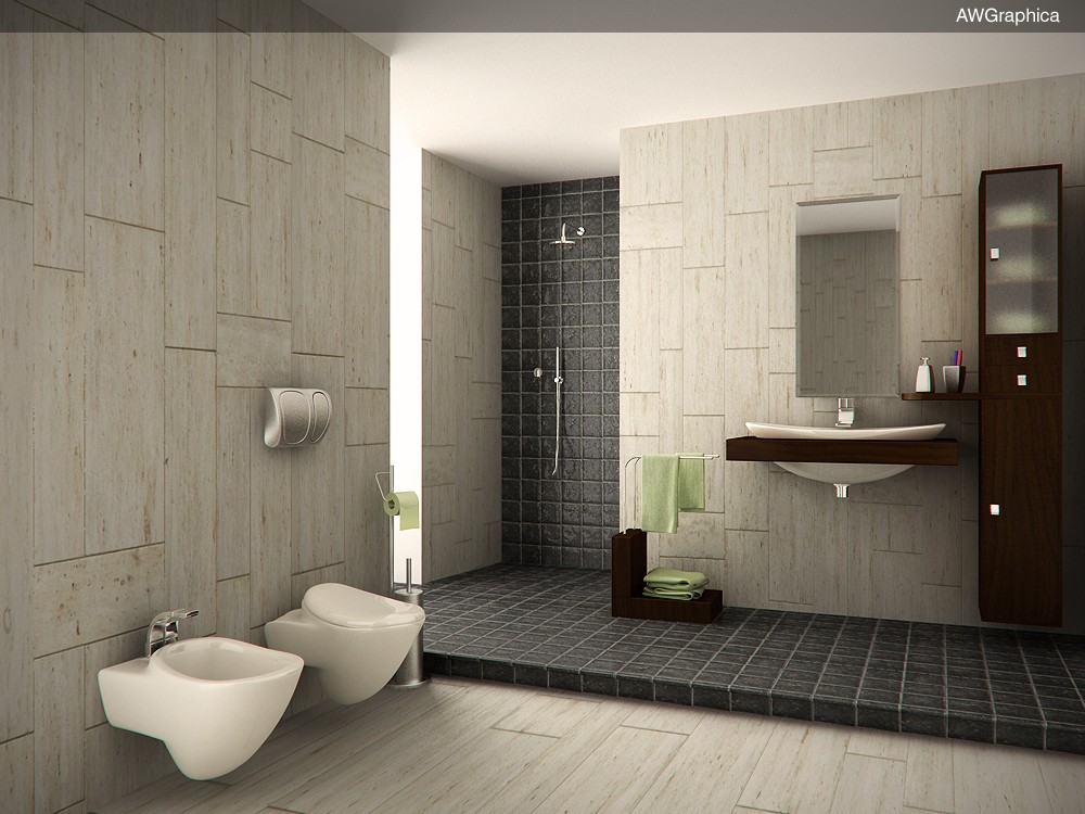 Bagno hurricane gallery c4dzone for Bagni interni case