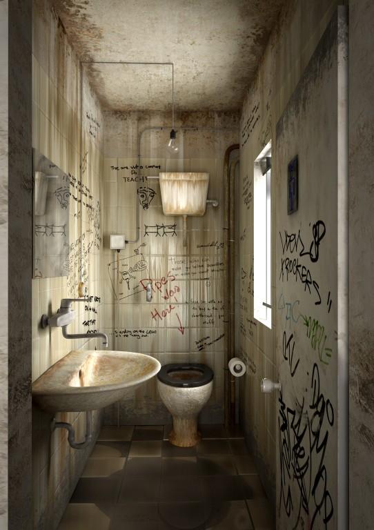 Bagno pubblico... - elpipes - Gallery - C4Dzone