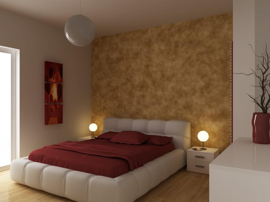 Parete testata letto decorazioni parete camera da letto trendy consigli e idee per with parete - Parete camera letto ...