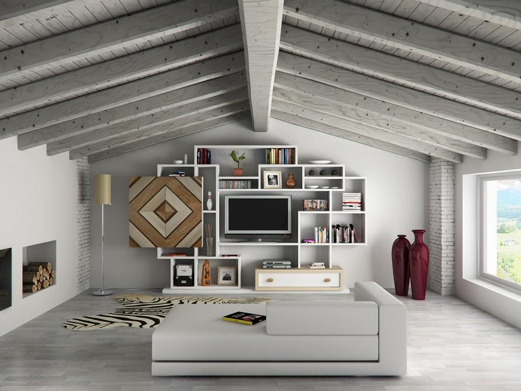 Forum idee per una sala in mansarda - Idee arredamento mansarda ...
