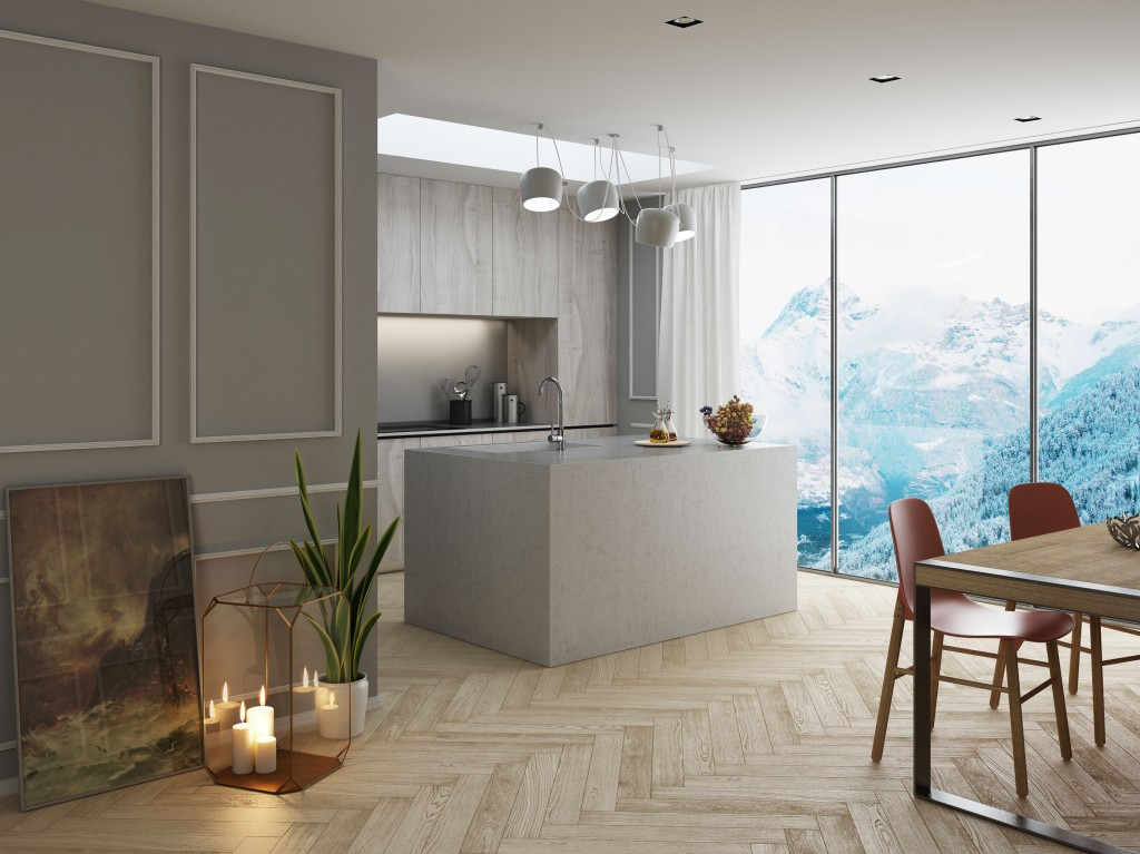 Kitchen nexzac gallery c4dzone for Living room cinema 4d