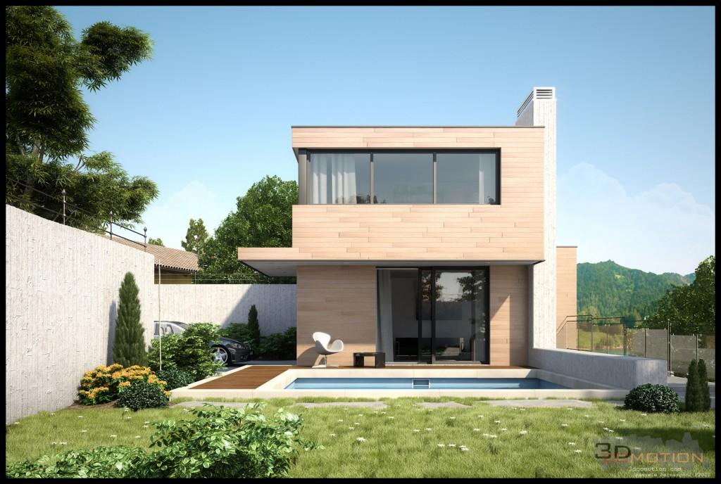 Casa di villeggiatura sambrn gallery c4dzone - Come scegliere il colore esterno della casa ...