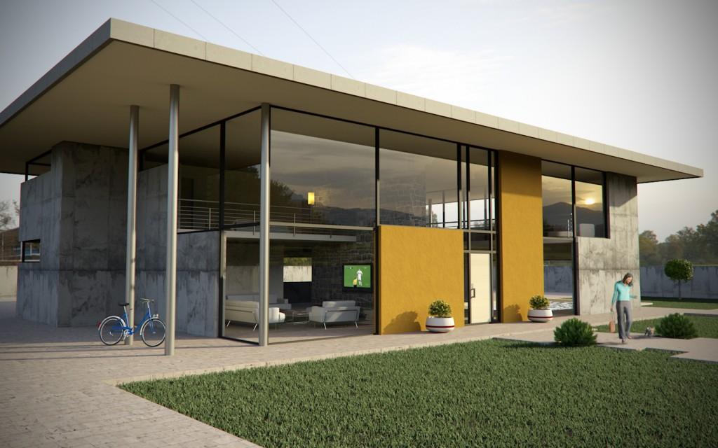 Casa moderna hurricane gallery c4dzone - Illuminazione casa moderna ...