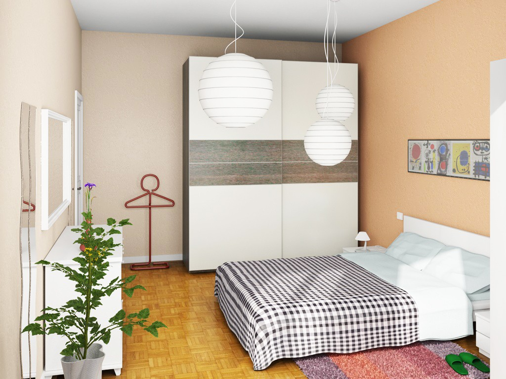Piccola camera morph gallery c4dzone for Arredare camera da letto piccola