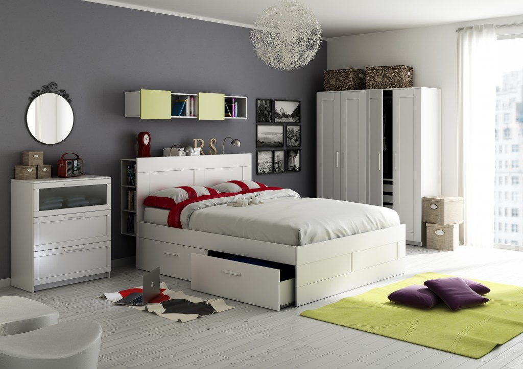 Bedroom ikea style nexzac gallery c4dzone - Ikea bunk bed room ideas ...