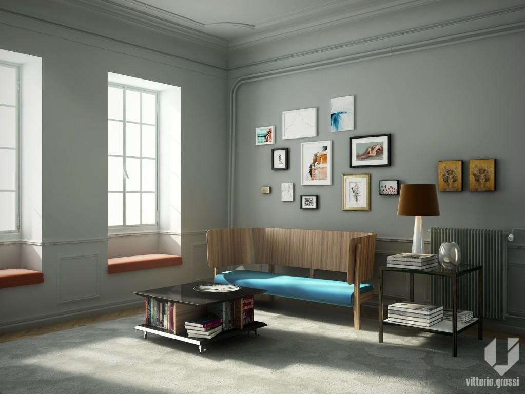 Angolo soggiorno - vitt23 - Gallery - C4Dzone
