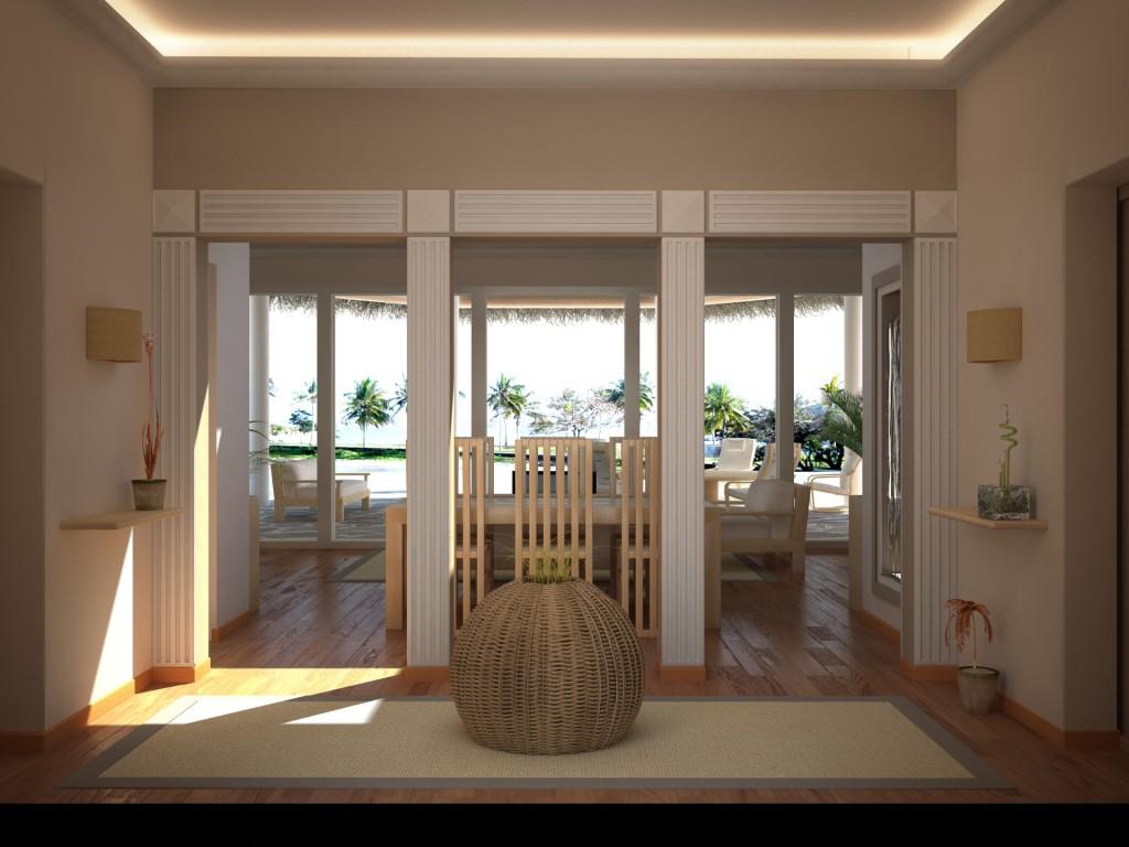 Villa watamu interni mrmojo gallery c4dzone for Interni ville