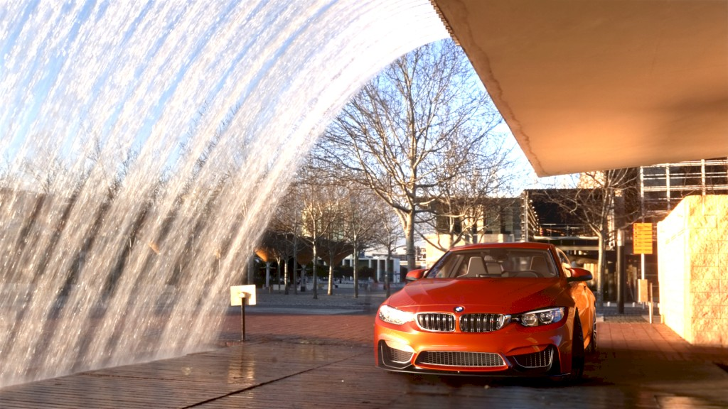 bmw m4 fountain env
