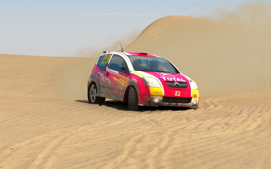 Citroen C2 Rally edition